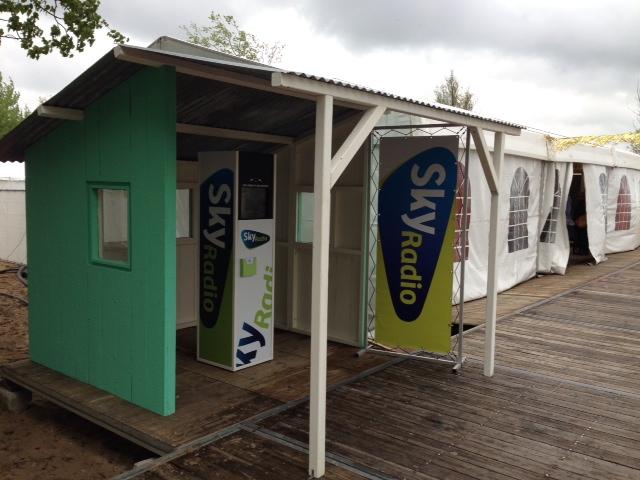 Sky Radio Photo booth